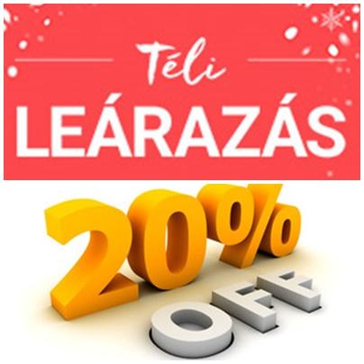 TÉLI LEÁRAZÁS