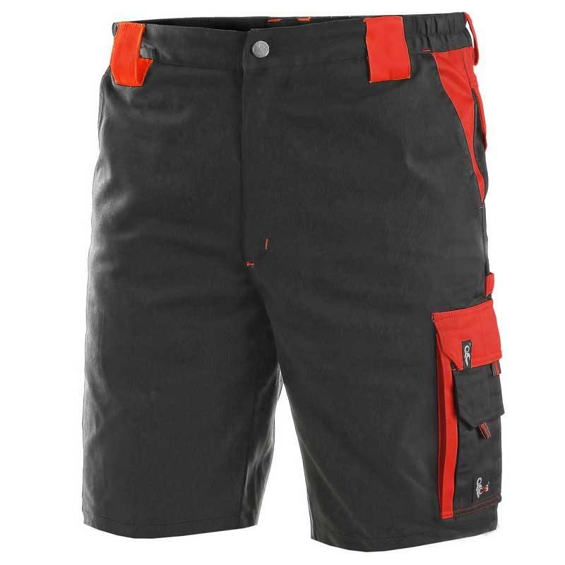 CXS ORION DAVID munkás rövidnadrág fekete piros