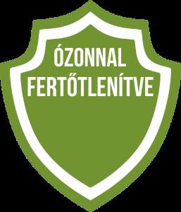 ÓZONNAL FERTŐTLENÍTVE